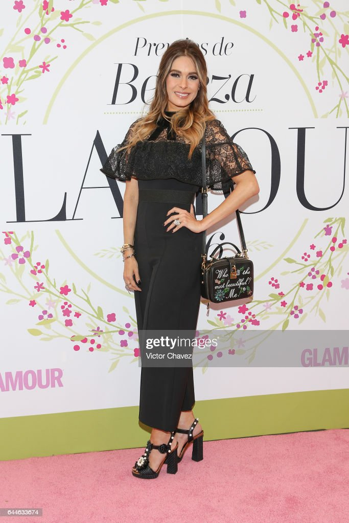 Galilea Montijo attends the Glamour Mexico magazine Beauty Awards 2016 at Jardin Versal on February 23, 2017 in Mexico City, Mexico.