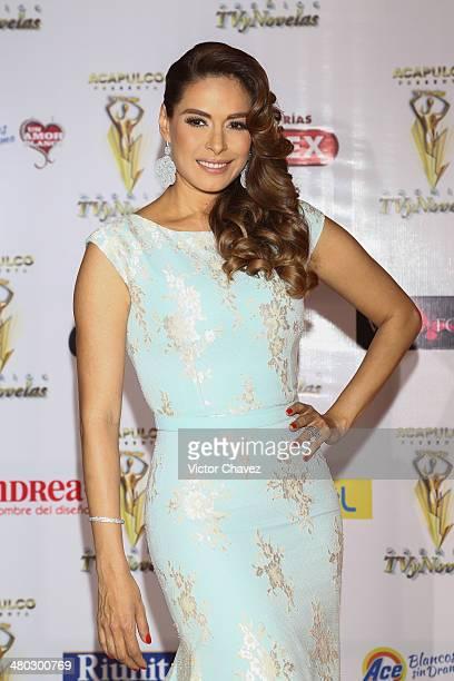 Galilea Montijo attends the Premios Tv y Novelas 2014 at Televisa Santa Fe on March 23 2014 in Mexico City Mexico