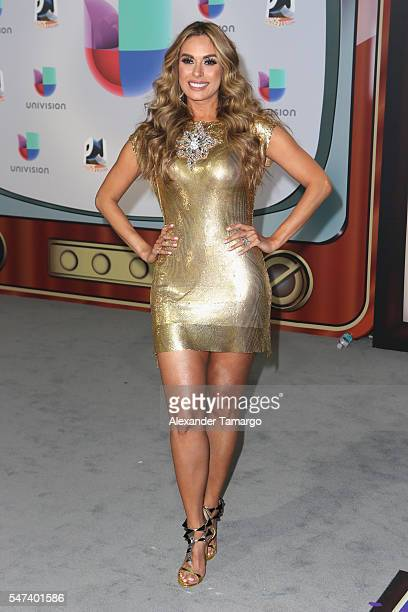 Galilea Montijo attends the Univision's 13th Edition Of Premios Juventud Youth Awards at Bank United Center on July 14 2016 in Miami Florida