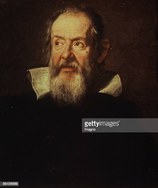 Galileo Galilei painted 1636 Oil on canvas 66 x 56 cm Inv 745 [Galileo Galilei 1636 oel/Lw 66 x 56 cm Inv 745]