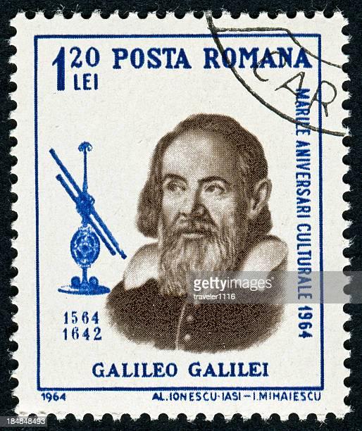Galileo Galilei Stamp