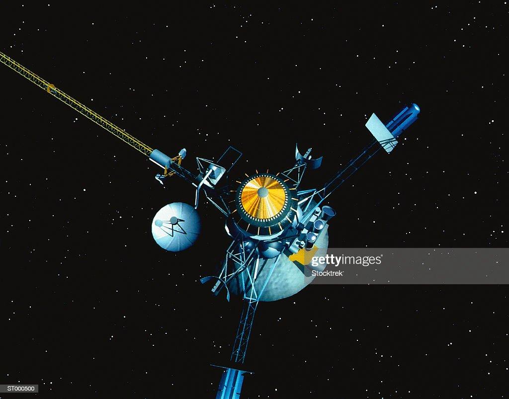 Galileo Probe in Space
