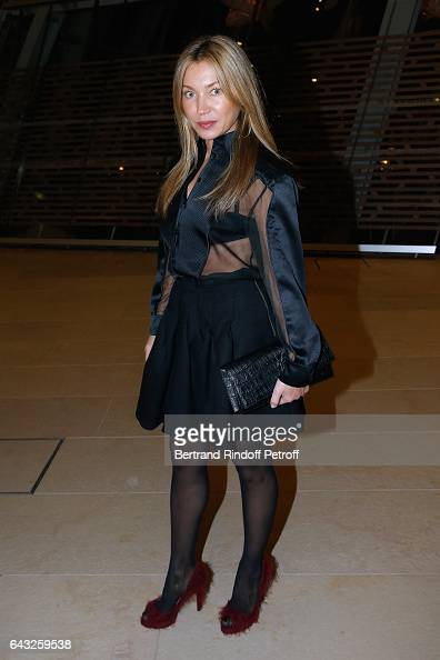 Galina Polinski attends the Private View of 'Icones de l'Art Moderne la Collection Chtchoukine' at Fondation Louis Vuitton on February 20 2017 in...