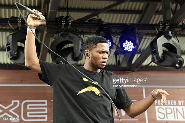 Gallant performs during AXE SPIN's SXSW showcase at The Belmont on March 17 2016 in Austin Texas