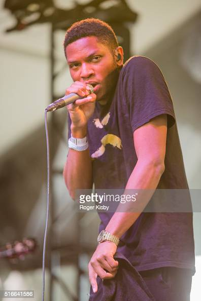 Gallant performs onstage at the FADER FORT presented by Converse during SXSW on March 19 2016 in Austin Texas