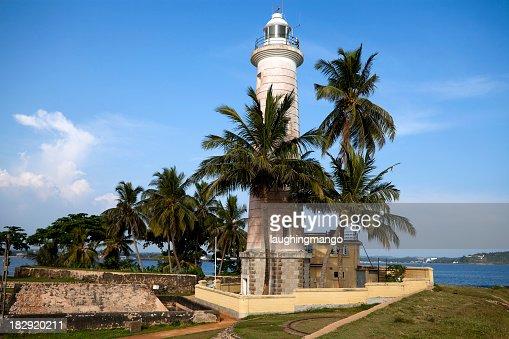 galle fort lighthouse sri lanka