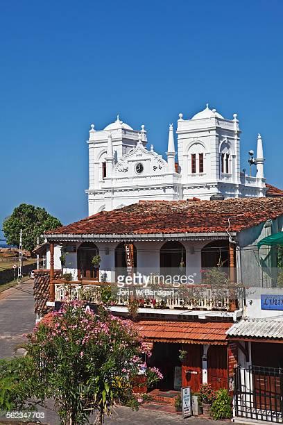 Galle Fort street scene, Galle, Sri Lanka