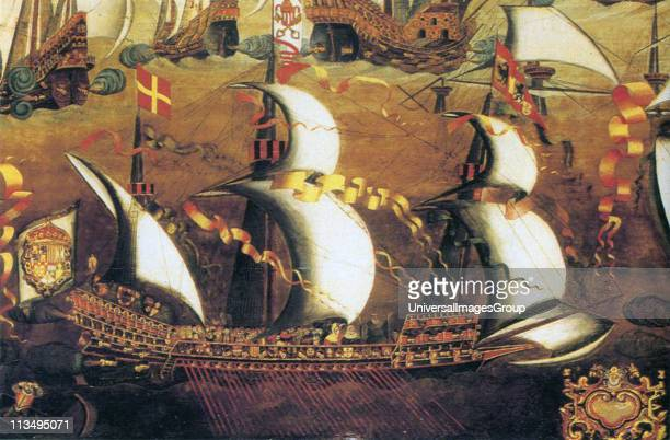 A galleass from the armada The galleass were higher and larger than regular galleys They had up to 32 oars each worked by up to 5 men They usually...