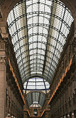 ithe ceiling of  Galleria Vittorio Emanuele Milan Lombardy Italy