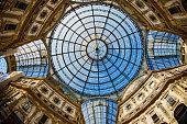 Milan 2015 expo vittorio emanuele gallery ceiling