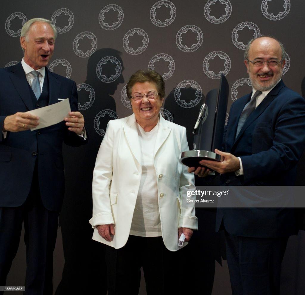 Helga de Alvear Receives Montblanc Culture Award 2014