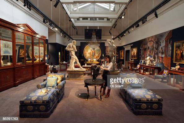 London sotheby stock photos and pictures getty images for Furniture auctions london