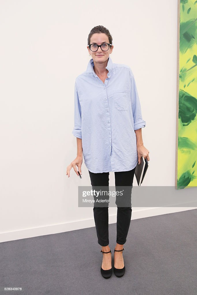 Gallery Director, Lucy Chadwick attends the 2016 Frieze Art Fair: New York at Randall's Island on May 4, 2016 in New York City.