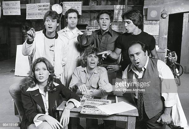 TAXI Gallery Season One 9/2/78 Marilu Henner Randall Carver Andy Kaufman Jeff Conaway Judd Hirsch Tony Danza Danny DeVito on the ABC Television...
