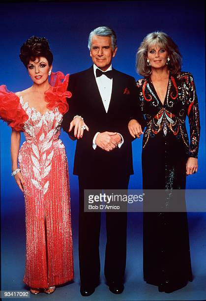 DYNASTY gallery Season Six 9/25/85 Joan Collins John Forsythe Linda Evans