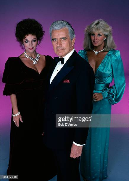 DYNASTY gallery Season Three 9/29/82 Joan Collins John Forsythe Linda Evans