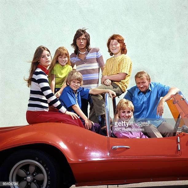 FAMILY gallery Season Two 5/22/72 Susan Dey Suzanne Crough Brian Forster David Cassidy Danny Bonaduce Shirley Jones Dave Madden