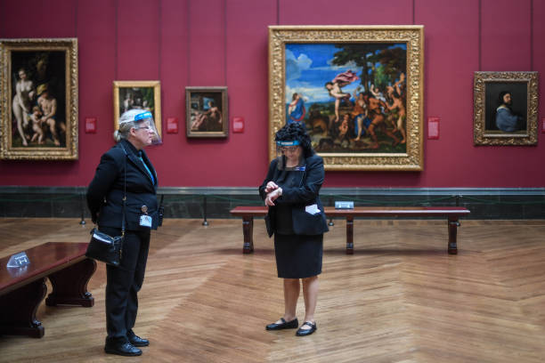 GBR: National Portrait Gallery Reopens With Timed Slots For Visitors