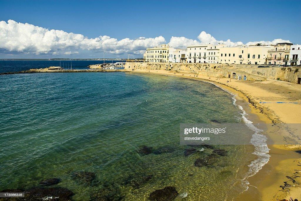 Gallipoli-Italia : Foto stock