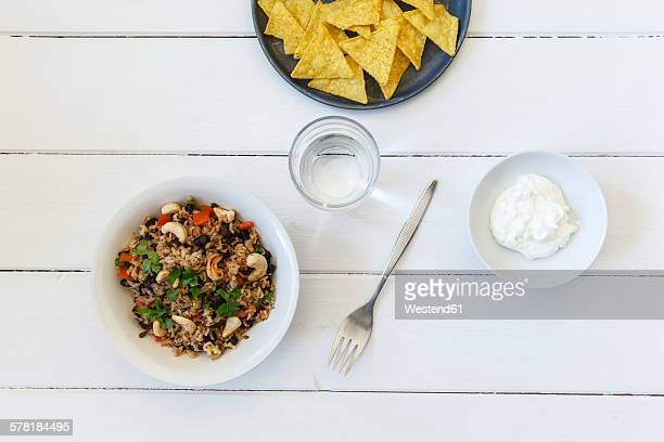 Gallo Pinto, Central American Food with beans