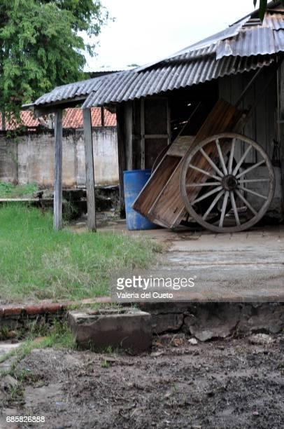 Galpão e roda