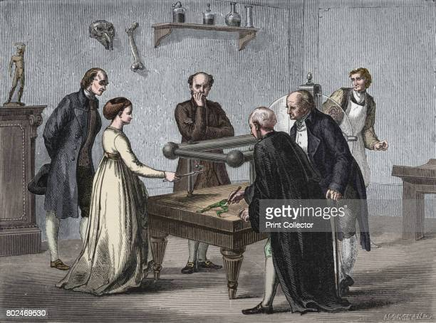 Galvani's discovery 1780 Italian physiologist Luigi Galvani experimenting on frogs A professor working in Bologna Galvani performed experiments to...