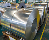 Rolled steel coil, Galvanized