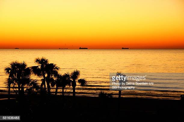 Galveston Texas sunrise