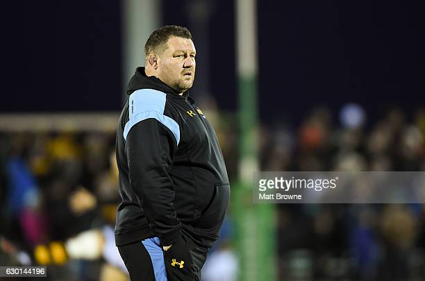 Galway Ireland 17 December 2016 Wasps Director of Rugby Dai Young before the European Rugby Champions Cup Pool 2 Round 4 match between Connacht and...