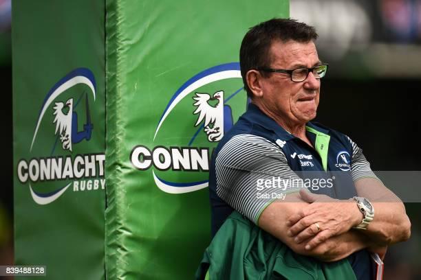 Galway Ireland 26 August 2017 Connacht head coach Kieran Keane prior to the Preseason Friendly match between Connacht and Bristol at the Sportsground...