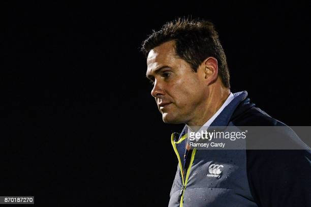 Galway Ireland 4 November 2017 Cheetahs head coach Rory Duncan ahead of the Guinness PRO14 Round 8 match between Connacht and Cheetahs at the...
