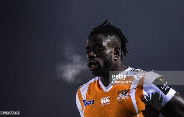 Galway Ireland 4 November 2017 Luther Obi of Cheetahs during the Guinness PRO14 Round 8 match between Connacht and Cheetahs at the Sportsground in...