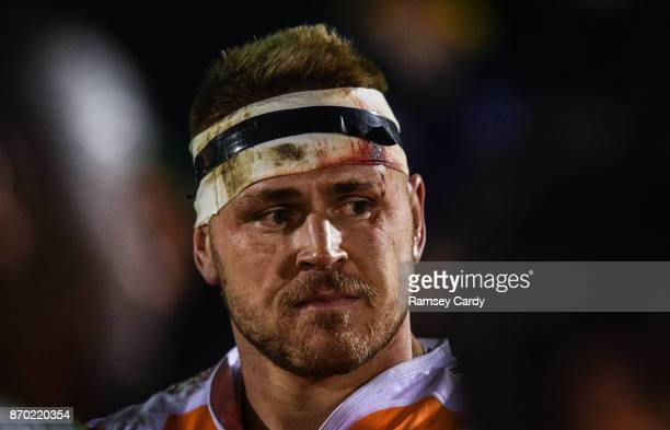 Galway Ireland 4 November 2017 Paul Schoeman of Cheetahs following the Guinness PRO14 Round 8 match between Connacht and Cheetahs at the Sportsground...