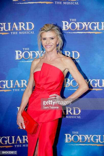 Gamble Breaux during a production media call for The Bodyguard at Regent Theatre on August 29 2017 in Melbourne Australia