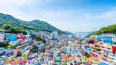 Gamcheon Culture Village,Busan(Pusan), South Korea