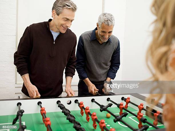 A Game of Foosball