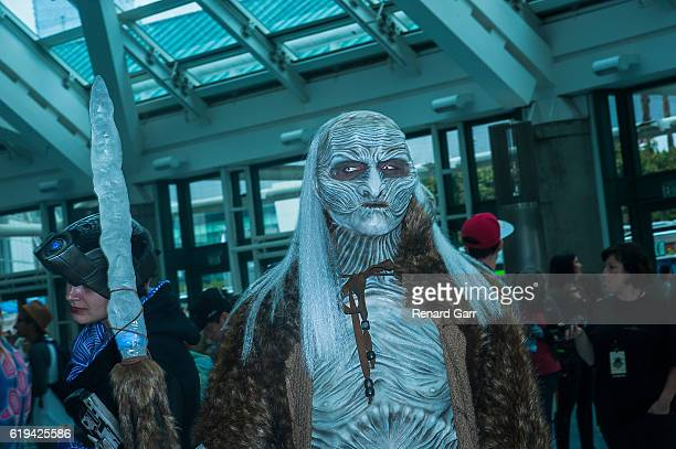 Game of Thrones Cosplayer at Los Angeles Convention Center on October 30 2016 in Los Angeles California