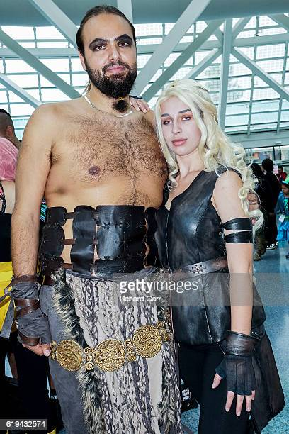 Game of Thrones Cosplayers at Los Angeles Convention Center on October 30 2016 in Los Angeles California