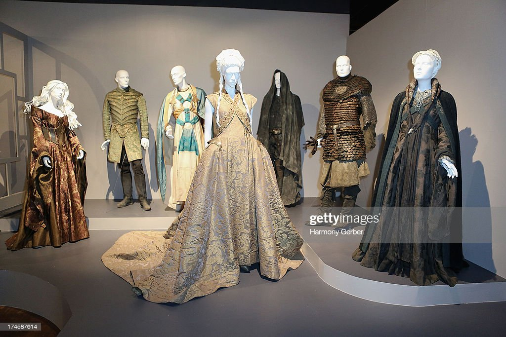Game of Thrones' wardrobe displayed at The Academy Of Television Arts & Sciences' Costume Design & Supervision Peer Group 65th Primetime Emmy Awards Nominee Reception on July 27, 2013 in Los Angeles, CA.