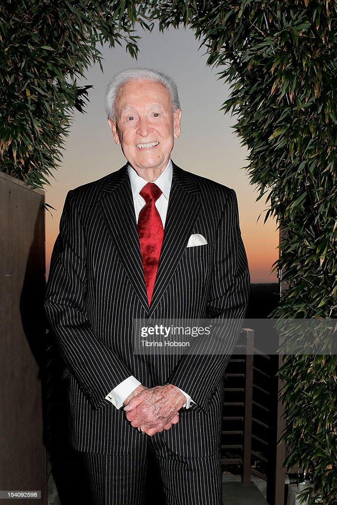 Game show host <a gi-track='captionPersonalityLinkClicked' href=/galleries/search?phrase=Bob+Barker&family=editorial&specificpeople=210681 ng-click='$event.stopPropagation()'>Bob Barker</a> attends the Animal Defenders International gala on October 13, 2012 in Hollywood, California.