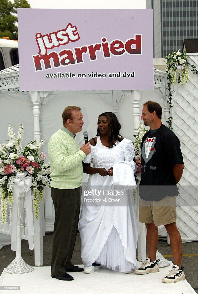 Bob Eubanks Hosts 'Just Married'