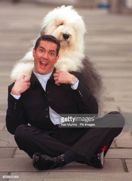 Game show host Dale Winton and Dillon the Old English Sheepdog launch a search today for a new star for the Dulux paint commercial ICI have used the...