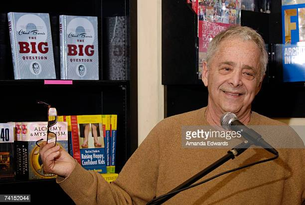 Game show producer Chuck Barris discusses his book 'The Big Question' at Book Soup on May 14 2007 in Los Angeles California