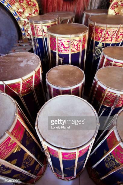 Gamelan musical instruments.