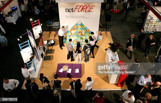 Games are used by many stalls as part of there promotional work netFORCE use a giant snakes and ladders game as their catch to attract visitors at...