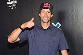 Games Austin athlete Travis Pastrana attends the X Games Austin KickOff Bash at the Alamo Drafthouse on June 3 2015 in Austin Texas