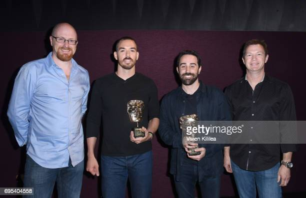 Games Committee Chair Nick ButtonBrown cofounders and coCEOs of Riot Games Marc Merrill and Brandon Beck and Chief Creative Officer at Blizzard...