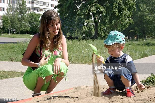 Games in a sandbox