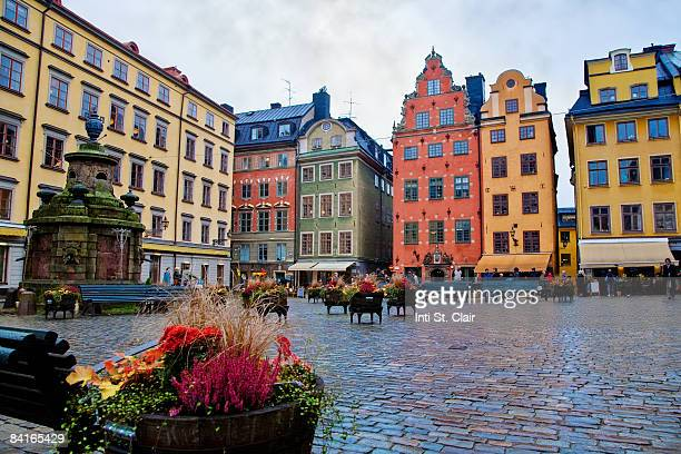 Gamia Stan Square, Stortorget, Old Town, Stockholm