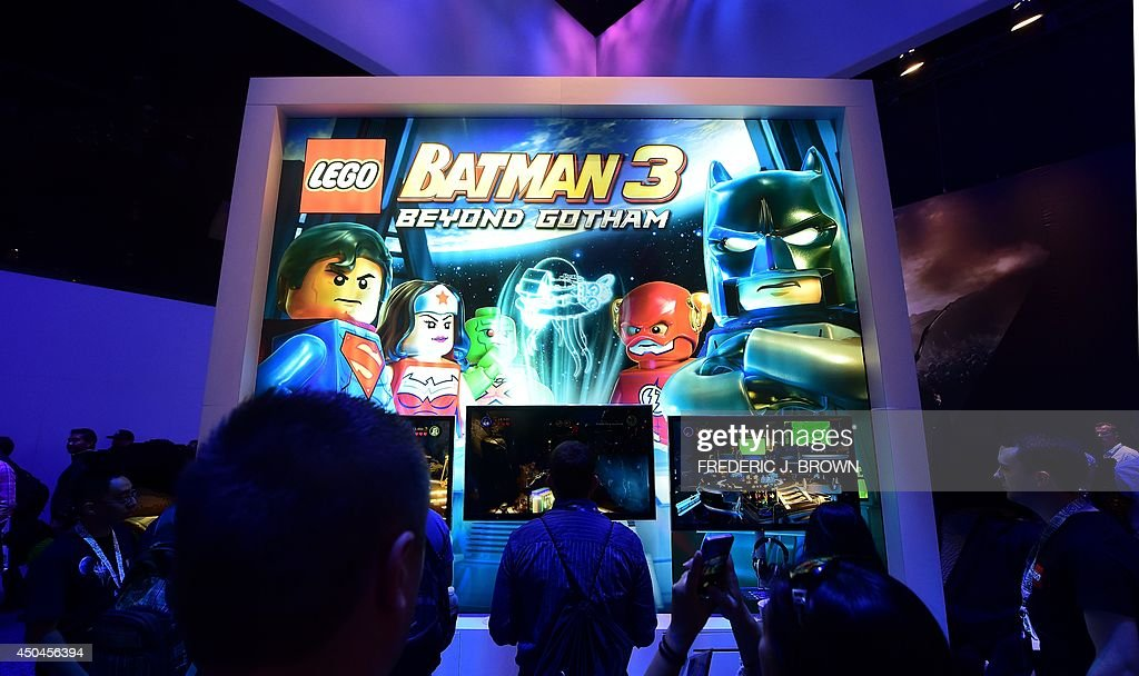 Beyond Gotham' at the annual E3 video game extravaganza in Los Angeles, California on June 11, 2014, where new consoles from Microsoft and Sony are girding to battle for the throne of the video game industry in the internet age. AFP PHOTO/Frederic J. BROWN